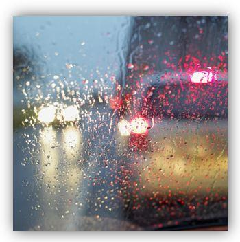 conduite et pluie