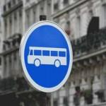 circuler sur la voie de bus