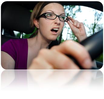 lunettes et conduite
