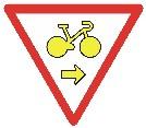 panneau pour vélo