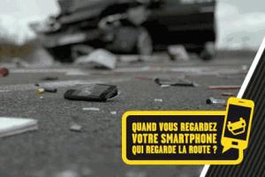 Utiliser son téléphone au volant est un danger