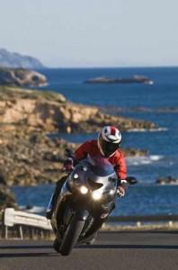 moto bord de mer