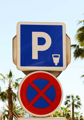 pancarte parking payant