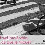les infractions à vélo