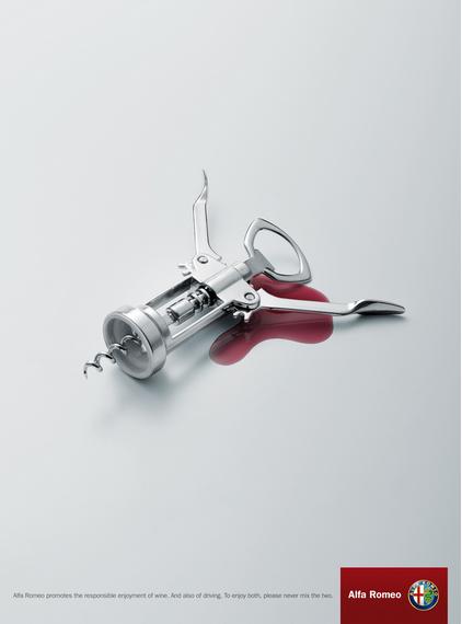publicité contre l'alcool au volant