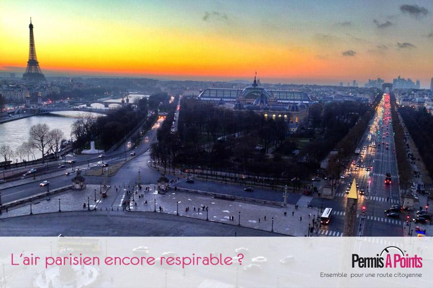 Vue Air Paris horizon