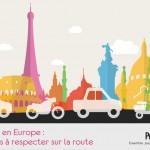 code de la route europe