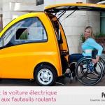 voiture électrique handicapé
