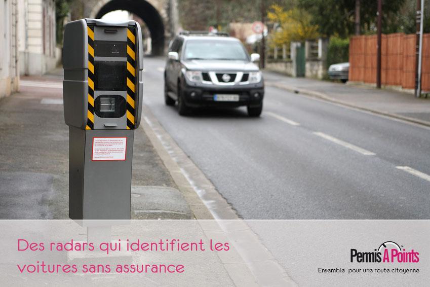 radars et voitures sans assurance