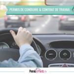 Permis de conduire et contrat de travail