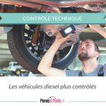 contrôle technique sur les véhicules diesel