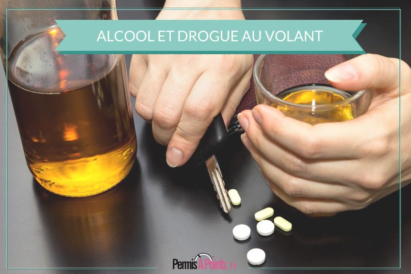 Alcool et stupéfiants au volant : les conséquences