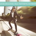 Eté : où peut-on circuler à vélo, en trottinette, rollers ou skateboard ?
