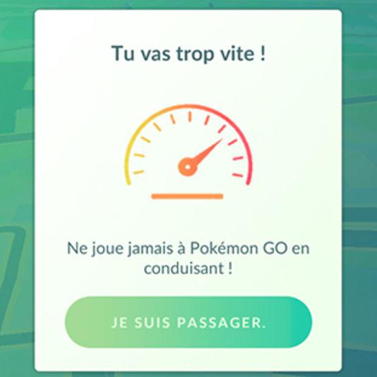 un mode conduite pour Pokemon Go