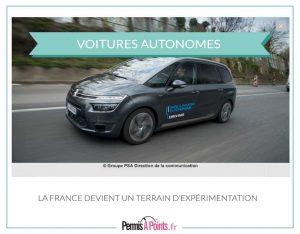 voiture autonome PSA