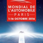 Affiche édition 2016 du Salon de l'automobile de Paris