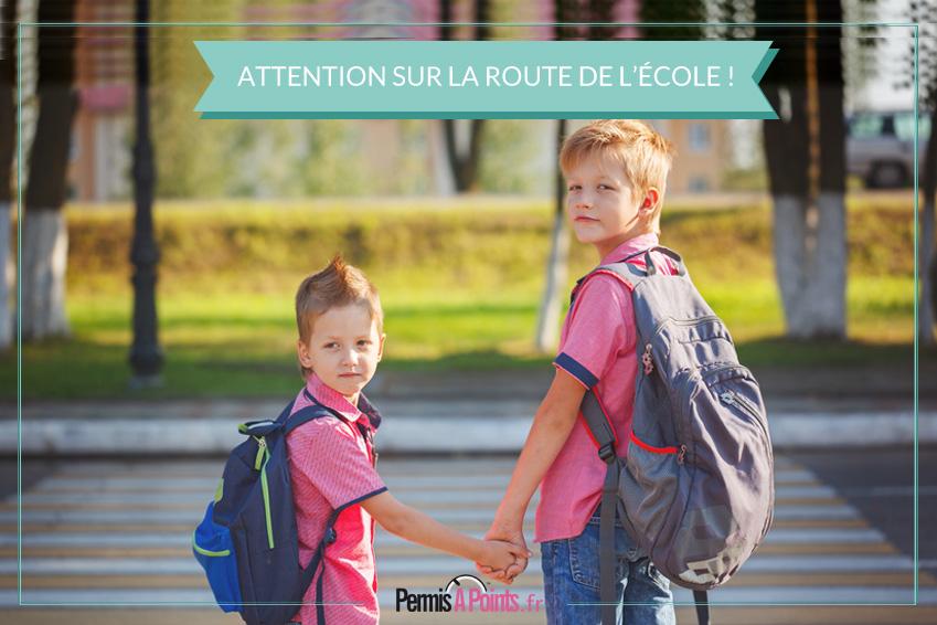 Rentrée scolaire : sur la route de l'école, soyons prudent !