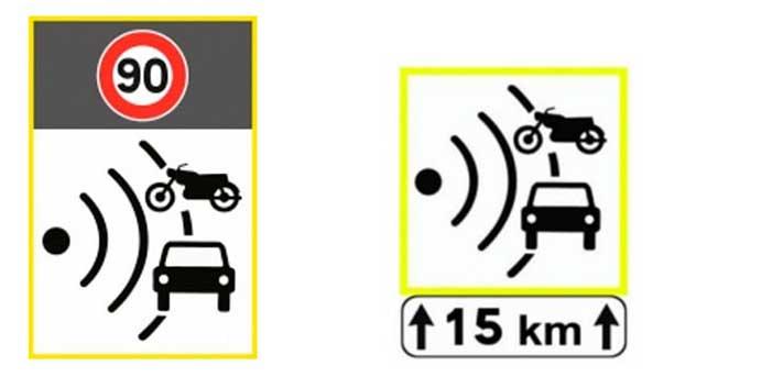panneaux radars automatiques