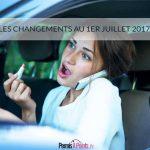 1er juillet 2017 : tout ce qui change