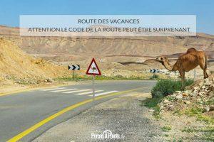 Route des vacances : attention le code de la route peut être surprenant