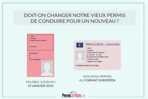 Doit-on changer notre vieux permis de conduire pour un nouveau permis?