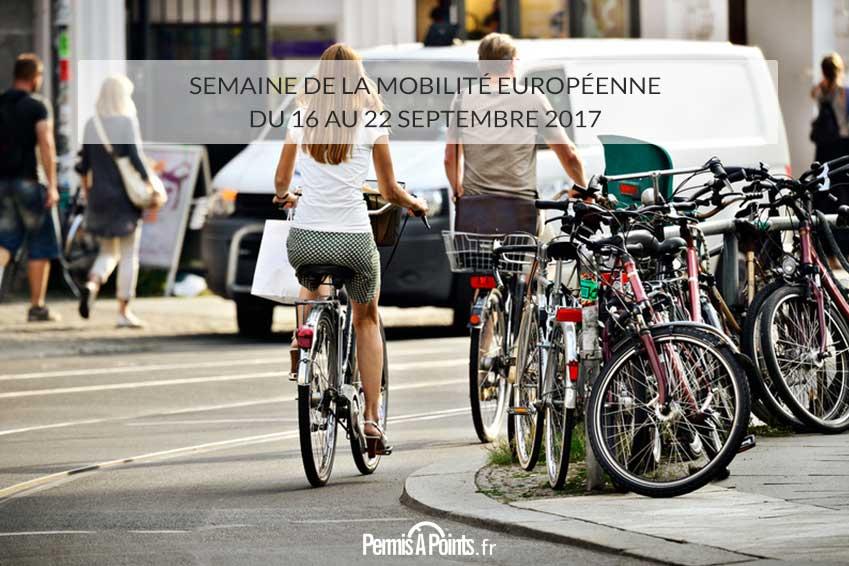 Semaine de la mobilité européenne du 16 au 22 septembre 2017