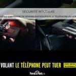 Securité routiere : nouvelle campagne de sensibilisation pour le telephone au volant