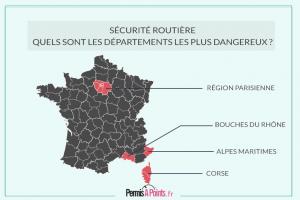 Sécurité Routière : quels sont les départements les plus dangereux ?