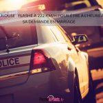 Toulouse: flashé à 222 km/h pour être à l'heure à sa demande en mariage