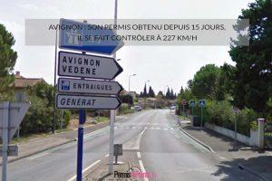 Avignon: son permis obtenu depuis 15 jours, il se fait contrôler à 227 km/h