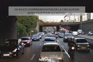 Où en est l'expérimentation de la circulation inter-files pour les motos ?
