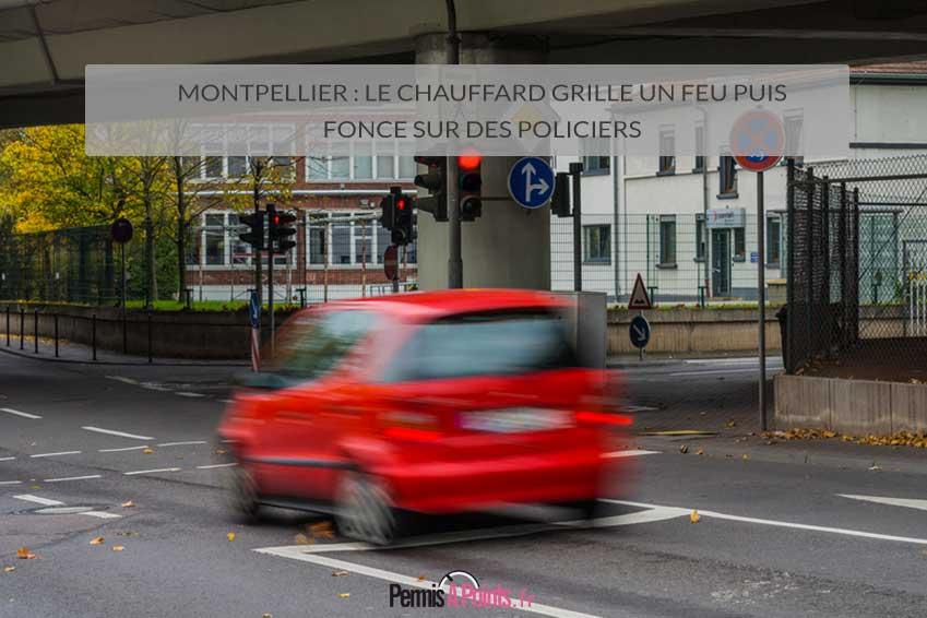 Montpellier le chauffard grille un feu puis fonce sur - Grille un feu orange combien de point ...