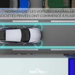 Normandie : les voitures radars de sociétés privées ont commencé à flasher