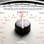 1er juillet 2018 : la limitation à 80 km/h débarque sur les routes secondaires