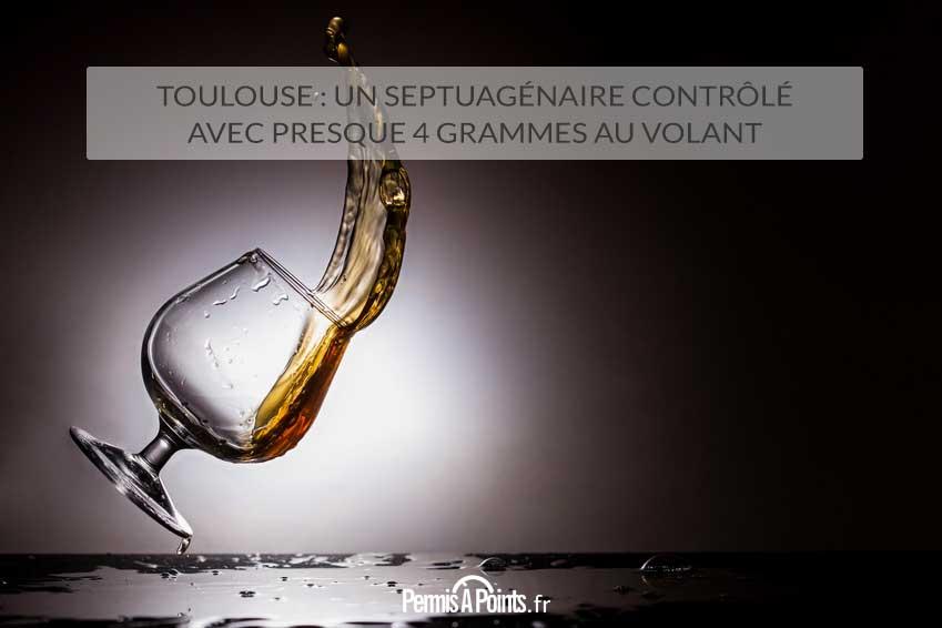 Toulouse : un septuagénaire contrôlé avec presque 4 grammes au volant