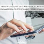 Janvier 2019 : un fichier des conducteurs sans assurance sera à disposition des forces de l'ordre