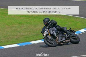 Le stage de pilotage moto sur circuit : un bon moyen de garder ses points
