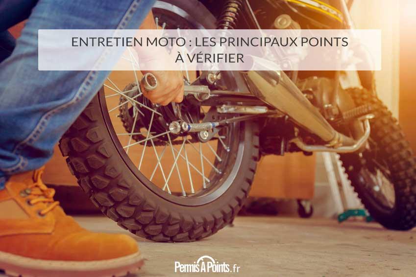 Entretien moto : les principaux points à vérifier