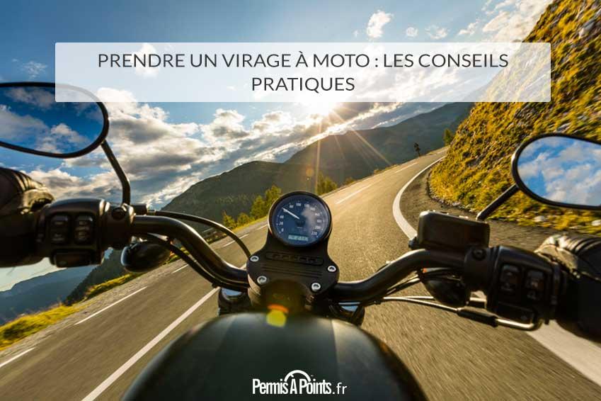 Prendre un virage à moto : les conseils pratiques