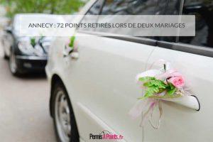 Annecy : 72 points retirés lors de deux mariages