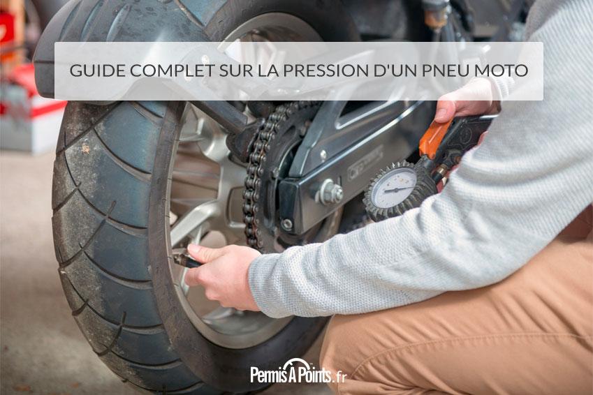 Guide complet sur la pression d'un pneu moto