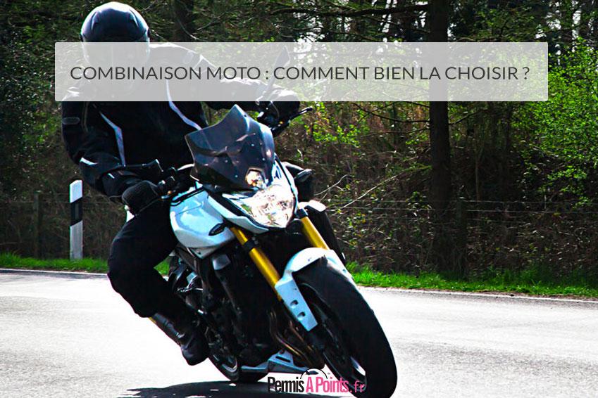 Combinaison moto : comment bien la choisir ?