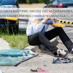 Sécurité routière : hausse des accidents de la route causés par des conducteurs non-assurés