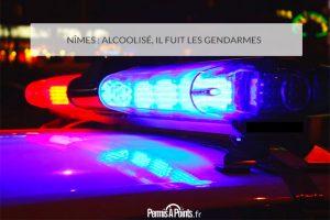 Nîmes: alcoolisé, il fuit les gendarmes