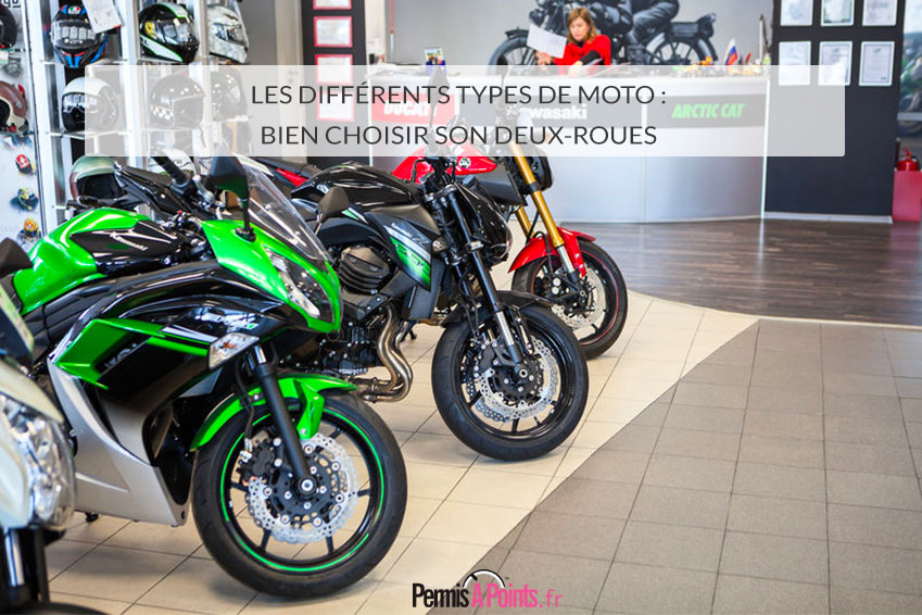 Les différents types de moto : bien choisir son deux-roues