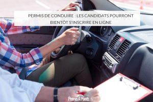 Permis de conduire : les candidats pourront bientôt s'inscrire en ligne