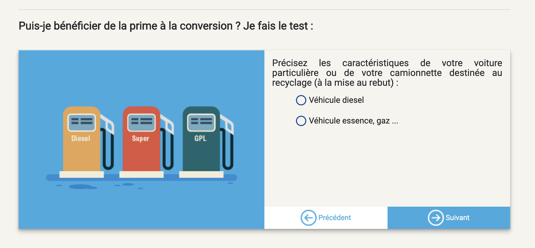 Simulateur prime à la conversion 2019