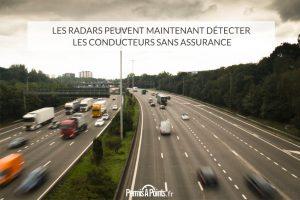 Les radars peuvent maintenant détecter les conducteurs sans assurance