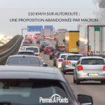 110 km/h sur autoroute : une proposition abandonnée par Macron