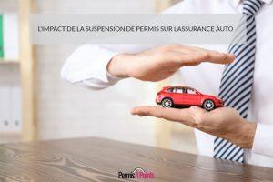 L'impact de la suspension de permis sur l'assurance auto